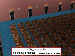 طراحی سه بعدی سالن سینما