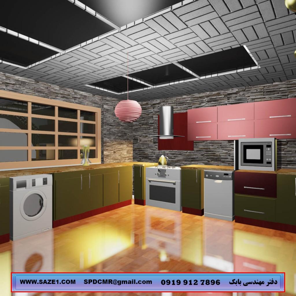 طراحی کابینت سه بعدی